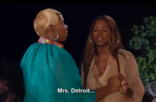 Wait, wtf is wrong with Detroit?  Porsha I'm confused.  No really.