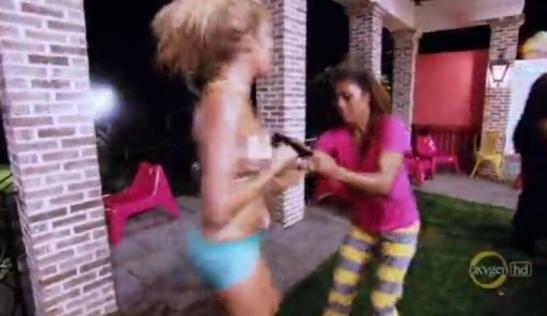 BGC jenniffer vs rocky drunk fight