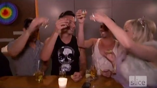 RHOV Jody and friends take shots