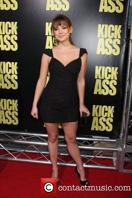 Laura-Leigh red carpet at Kick-Ass Premiere