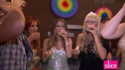 RHOV Mary and Robin and friends take shots