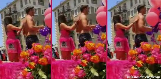 Schaena Marie rubs lotion on Stassi's then boyfriend, Jax