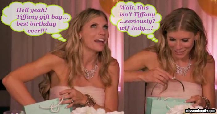 RHOV Jody gives Amanda a tiara