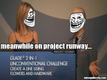Project Runway heidi and tim trollface