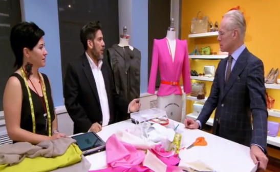 Project Runway Teams Daniel Michelle and Tim Gunn