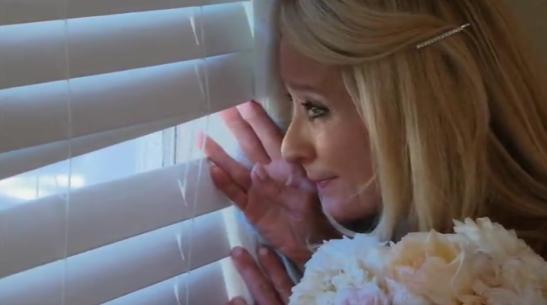 RHOBH Kim sneaks a peek as her daughter leaves for prom