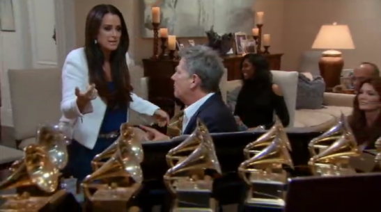 RHOBH Kyle pretends she didnt know what a grammy looks like