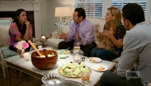 RHOBH Mauricio and Paul dont know how to drink scotch