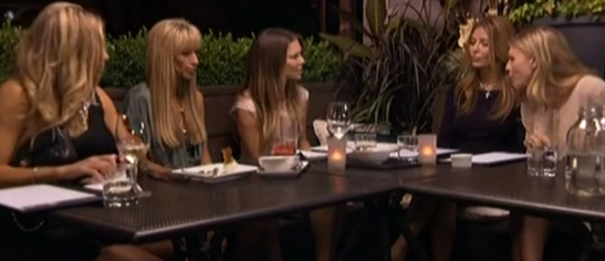 RHOV Amanda attacks Mary at dinner