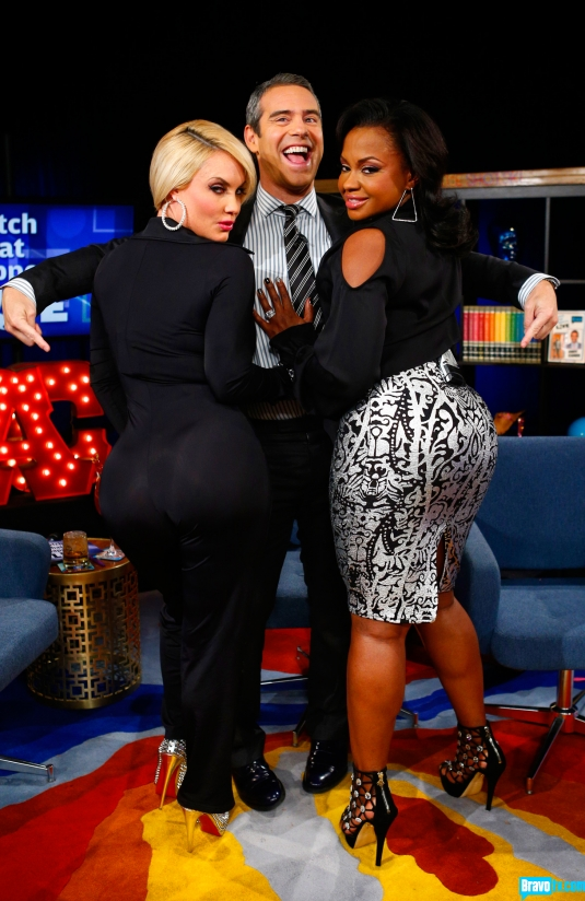 andy cohen loves a donkey booty coco and phaedra