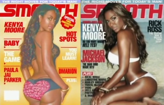 RHOA Kenya Moore cover of Smooth