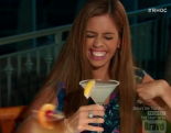 RHOC new housewife Lydia McLaughlin armpit noise