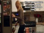 RHOC Gretchen Rossi Jack Daniels in fridge lol