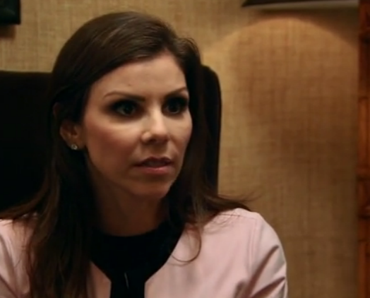 RHOC Heather Dubrow serious face