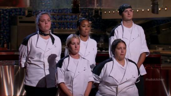 Hells Kitchen Season 11 the final five Black Jackets