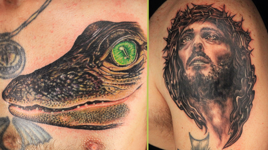 Ink Master the real two best tattoos from episode 1