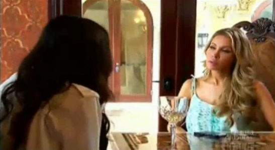 RHOM Adrianna Lying to Lisa