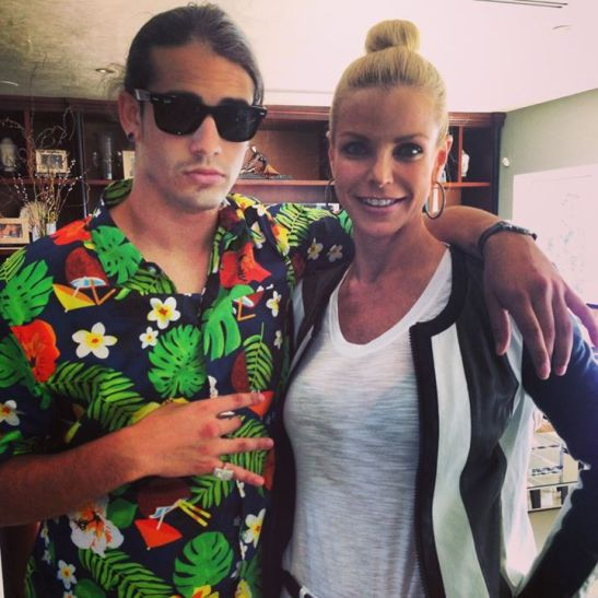 RHOM Alexias son Peter gives shocker in picture with mom his facebook