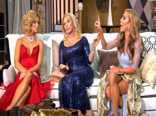 RHOM Marysol yells at Lea youre louder than your dress